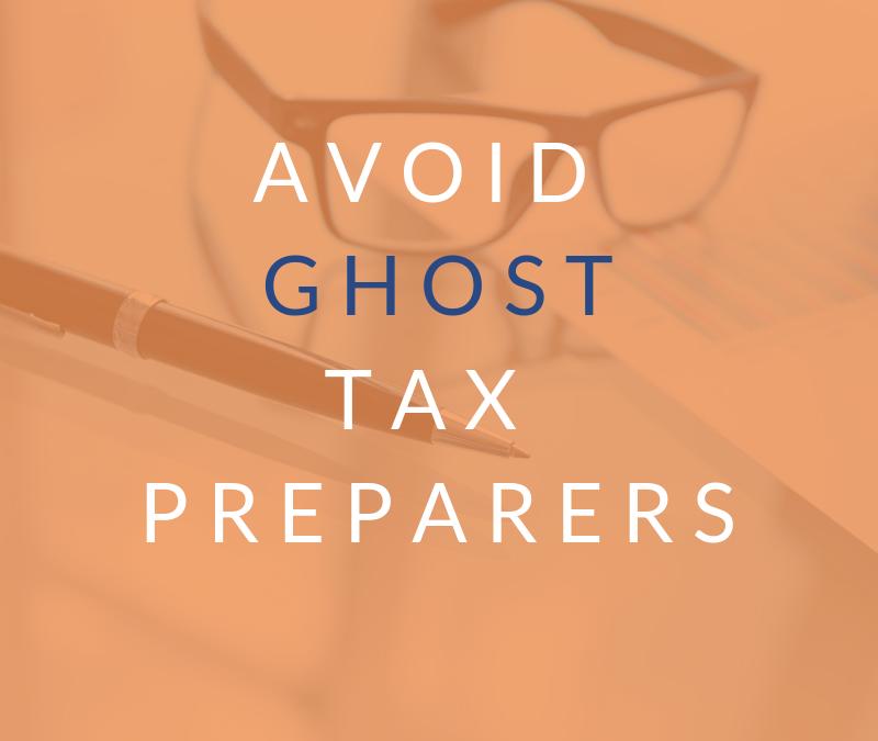 Ghost Tax Preparers